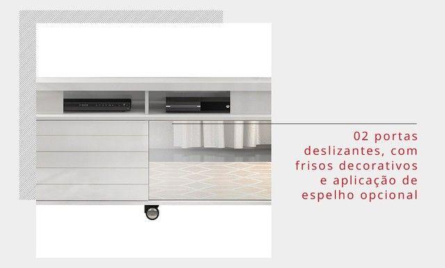 """Rack Ageo para c/ espelho TV Até 60"""" - DJ Móveis - Foto 5"""