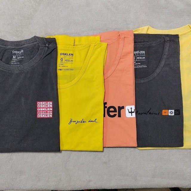 Camisetas masculinas R$ 49,99. Qualquer peça. - Foto 3