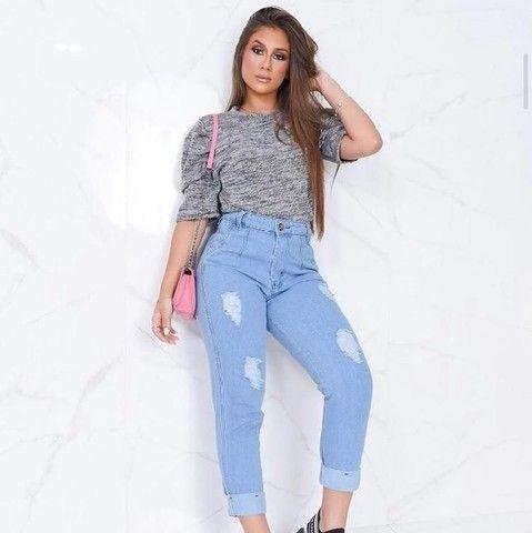 Calça jeans feminina entrega grátis - Foto 6