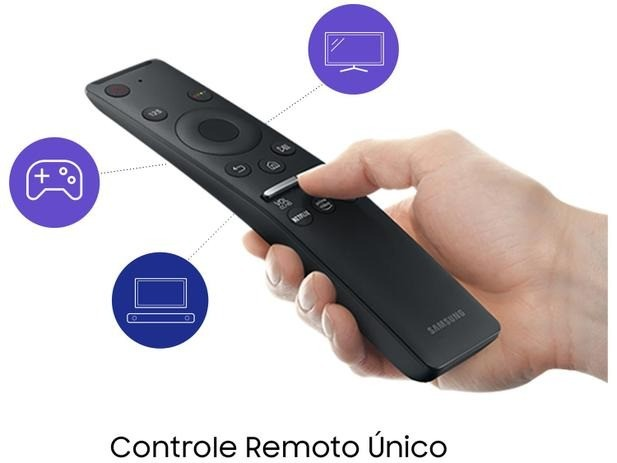 Smart TV Crystal UHD 4K LED 50? Samsung - 50TU7000 Wi-Fi Bluetooth HDR 2 HDMI 1 USB - Foto 3