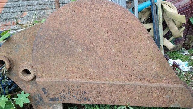 Vendo concha de retro escavadeira - Foto 2