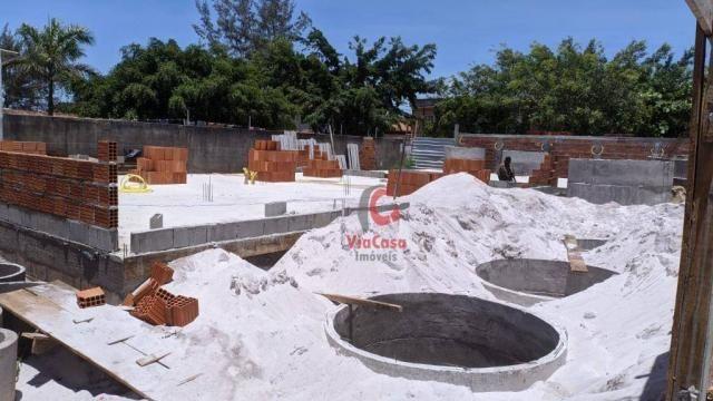 Casa linear com 2 dormitórios à venda, 62 m² Terra Firme - Rio das Ostras/RJ - Foto 11