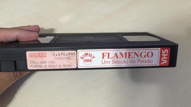 Fita Cassete - Flamengo - Um Século de Paixão - Foto 2
