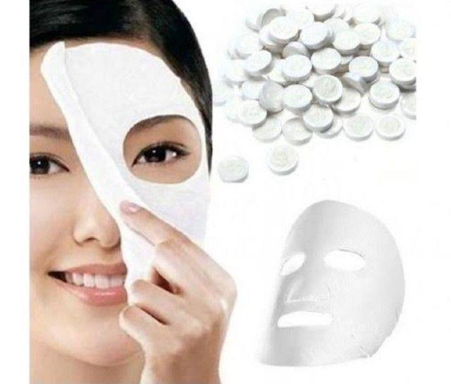 Máscara desidratada com 50 unidades