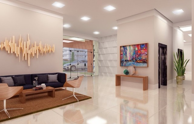 Apartamento com 1 dorm 1 vaga com varanda gourmet no Aquarius torre única  - Foto 3