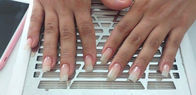 Alongamento de unhas   em fibra  de vidro  - Foto 4