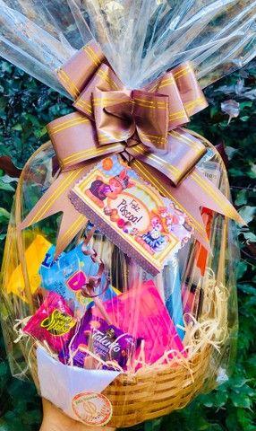 Cestas de café da manhã e cestas de chocolates  - Foto 5