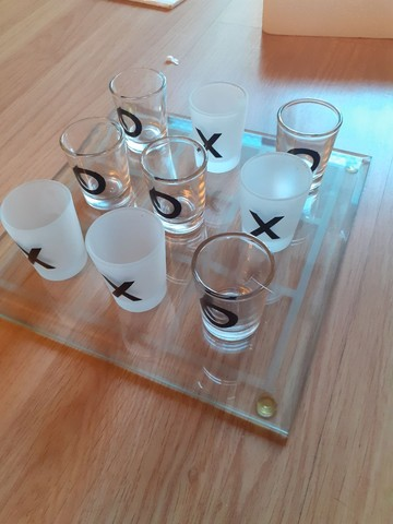 Kit copo shot jogo da velha - Foto 2