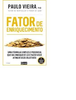 Livro - Fator de enriquecimento Paulo Viera - Foto 2