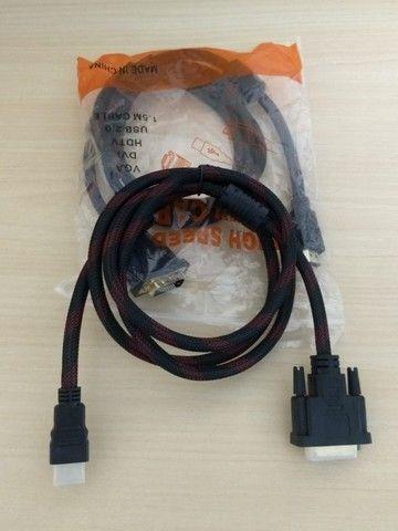 Cabo HDMI x DVI-D - Foto 2