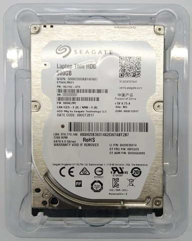 "HD Sata 500 GB Notebook 2,5"" - Foto 5"