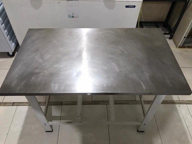 Mesa de alumínio industrial