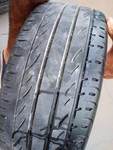 Troco roda aro 17 furaçao 5x100 - Foto 4