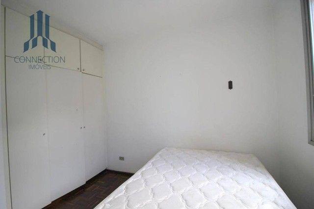 Apartamento com 3 dormitórios para alugar, 120 m² por R$ 2.000,00/mês - Centro Cívico - Cu - Foto 8