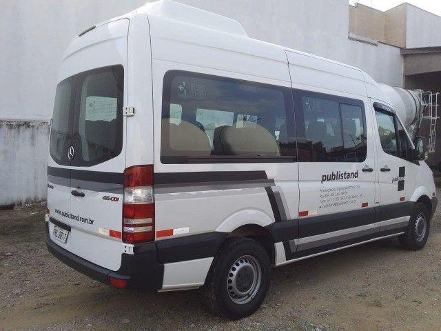 MB Sprinter Van 2.2 CDI 415 Luxo Teto Alto 5 p - Foto 4