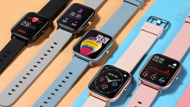 Smartwatch Relógio inteligente Digital Presente Dia das Mães P8
