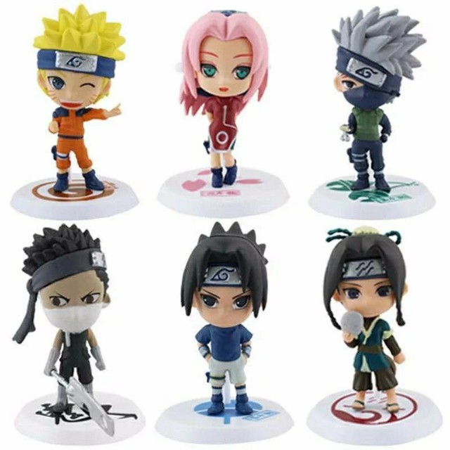Naruto Action Figure Bonecos Miniaturas