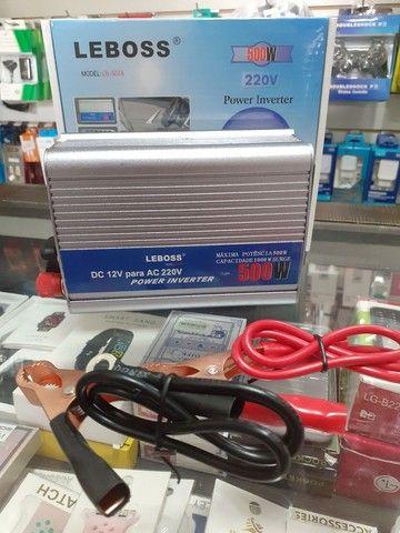 Inversor 500W Leboss 12v 220V  - Foto 2