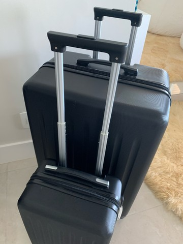 Jogo de malas Konos com um troley de cabine e uma mala grande. Usada somente uma vez. - Foto 3