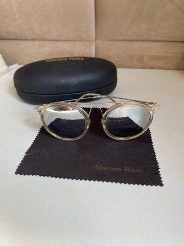 Óculos de sol morena rosa  - Foto 2