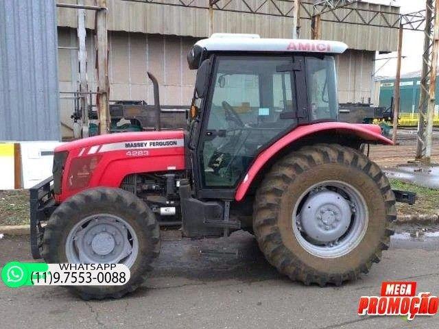 Trator Massey Ferguson 4283 4x4 ano 14 69900 - Foto 5