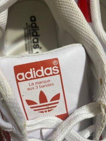 Tênis adidas superstar vermelho  - Foto 3