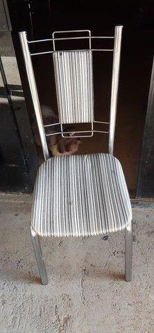 Mesa de vidro 6 cadeiras - Foto 3