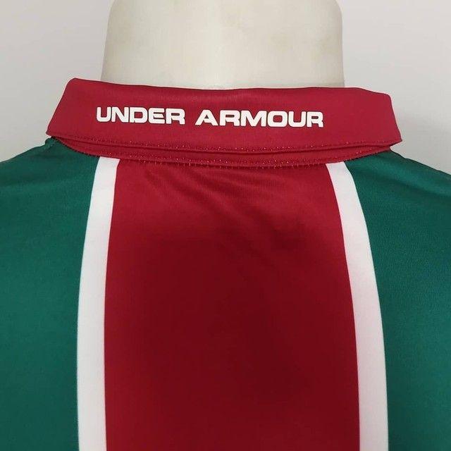 Camisa Fluminense tricolor Under Armour 2019 - Foto 5