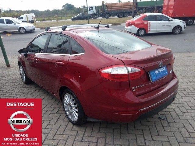 Fiesta Sedan Titanium Plus Automático 2017 - Foto 8