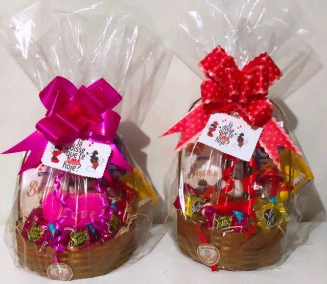 Cestas de café da manhã e cestas de chocolates  - Foto 3