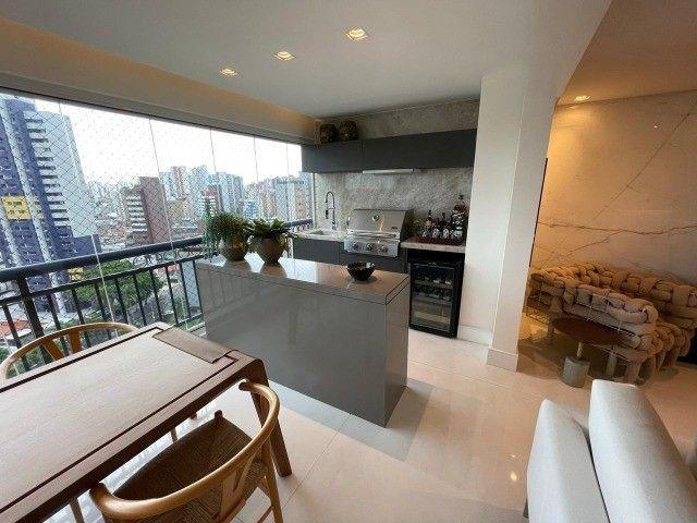 Maison Karine, 217m2, Porteira Fechada, 3 Suítes, Gabinete, DCE, Varanda Gourmet e 5 Vagas - Foto 9