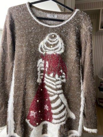 Blusas de inverno Tricot feminino