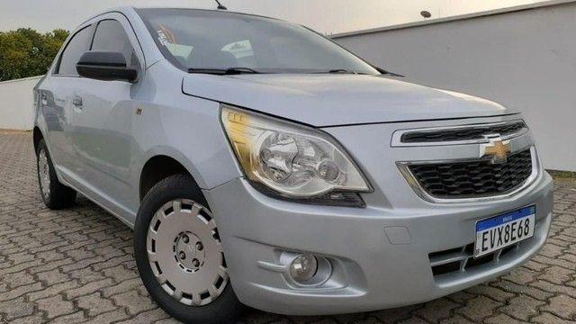 04 L - Chevrolet Cobalt LS 1.4 8V Flex 2012 Completo Top Espaçoso - Foto 2