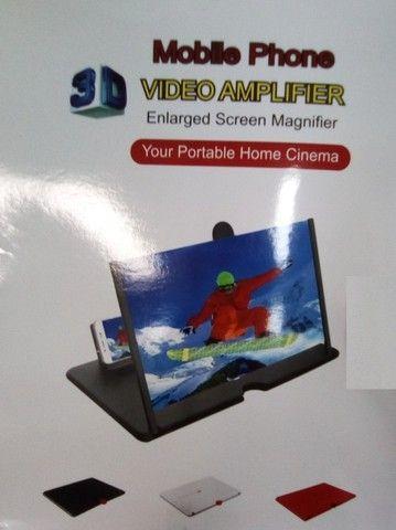 Lupa Amplia tela Celular 3D Lupa - Foto 6