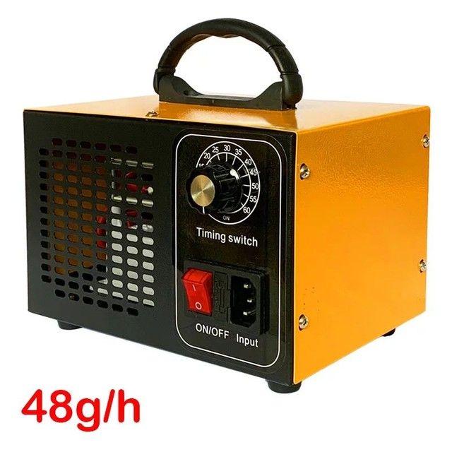 Gerador De Ozonio Oxi-sanitizador 48g/h 220v Ambientes e automotiva