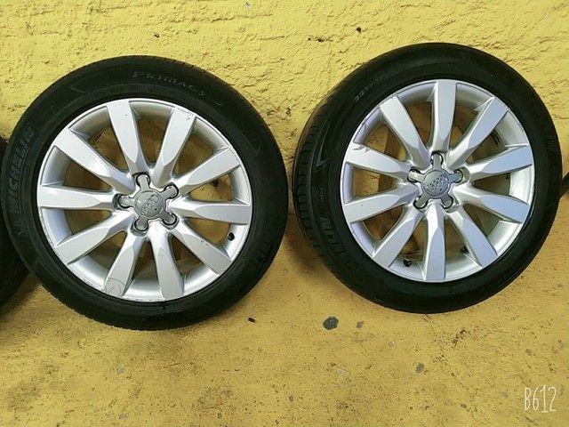 Vendo urgente rodas e pneus aro 17