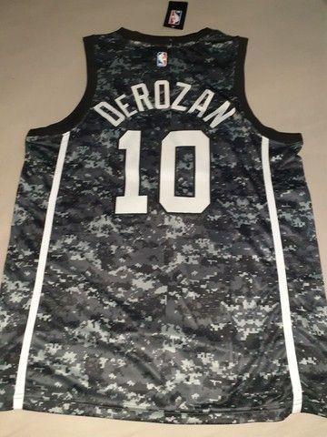 Camisa NBA San Antonio Spurs 20/21 DEROZAN 10 - Foto 4