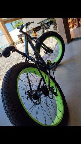 Bicicleta bike fat super bike vogue