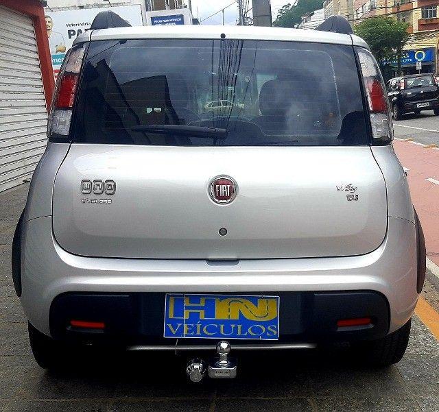 Fiat uno way motor 1.4 8v evo flex 4p prata ano 2015 raridade 36.000km ipva2021pgvist.  - Foto 2