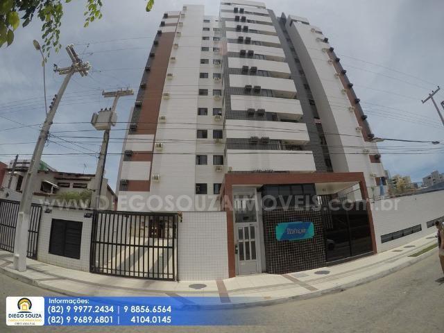 Apartamento no Stella Maris em Jatiúca com 03 Quartos + 01 vaga - Próximo ao Harmany