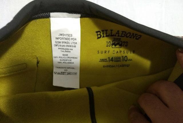 496de6345be6 Roupa para surf marca billabog feminina neopreme - Esportes e ...