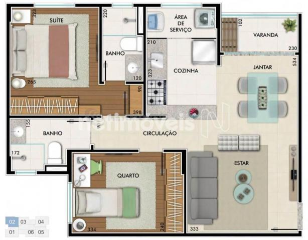 Apartamento à venda com 2 dormitórios em São geraldo, Belo horizonte cod:734309 - Foto 19