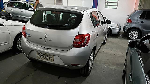 Renault Sandero Authentique - Com Gnv - Foto 4