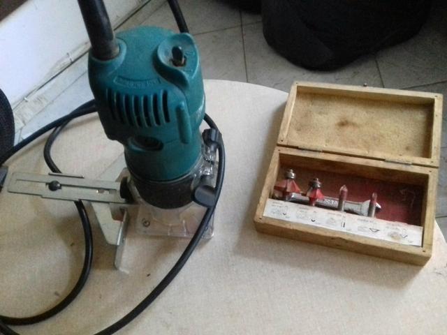 Ferramenta Elétrica traçador 250.tupia 300 Plaina 250 - Foto 4