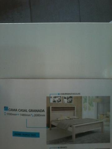 Promocao cama casal (novo)caixa 360,00 no dinheiro entrega e montagem gratis - Foto 4