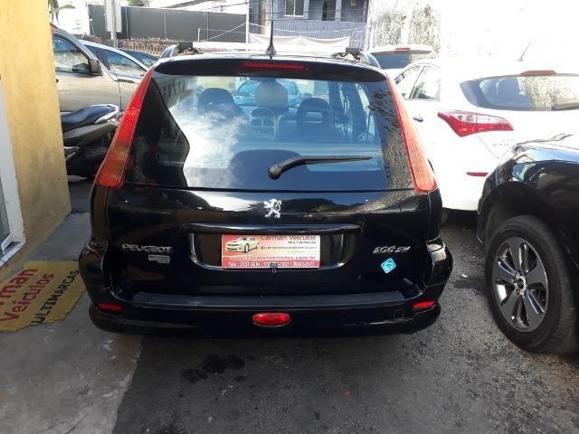 Peugeot sw feline 1.6 novissima financiamos sem entrada 20008 unico dono - Foto 4