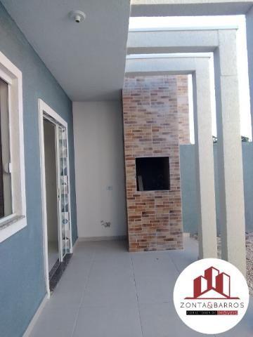 Casa à venda com 3 dormitórios em Gralha azul, Fazenda rio grande cod:CA00087 - Foto 12
