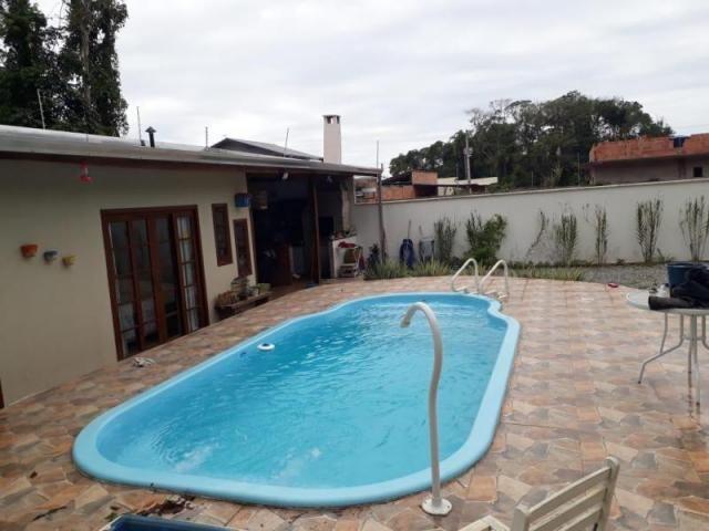 Casa para venda em barra velha, quinta dos açorianos, 1 dormitório, 1 suíte, 2 banheiros