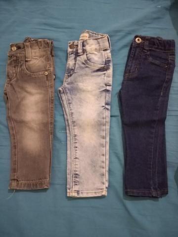 Calça jeans p/menino