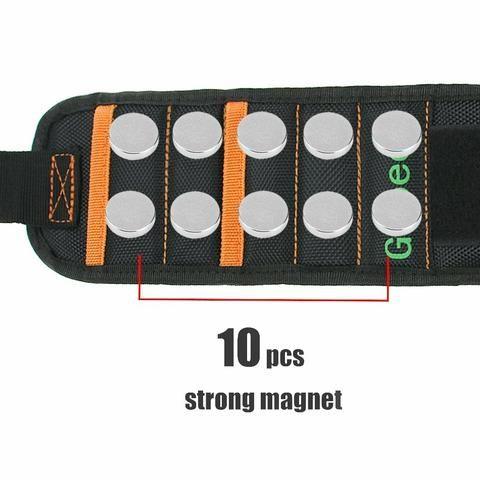 Pulseira Magnética Portátil Ferramenta - Foto 5